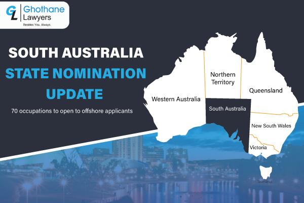 South Australia State Nomination Update